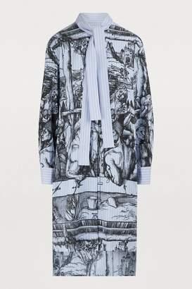 J.W.Anderson Striped shirt dress
