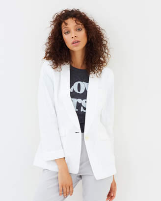 J.Crew Blazer in Cotton-Linen