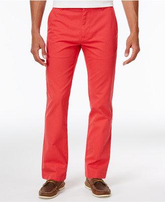 Tommy Hilfiger Men's Dot-Pattern Cotton Pants $69.98 thestylecure.com
