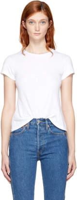 RE/DONE White Hanes Edition 1960s Slim T-Shirt