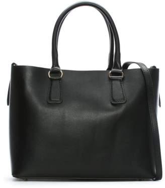 Daniel Member Black Leather Tote Bag