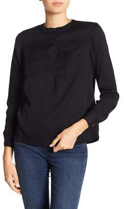 Joe Fresh Pocket Front Long Sleeve Tee
