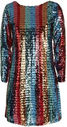 Deborah Lyons Paris Sequin Mini Dress