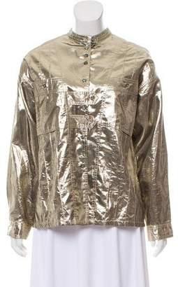 Isabel Marant Lightweight Metallic Jacket