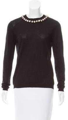 Marni Embellished Cashmere Sweater