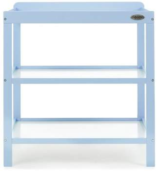 O Baby Obaby Open Changing Unit - Bonbon Blue
