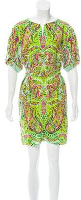 Yoana Baraschi Printed Mini Dress