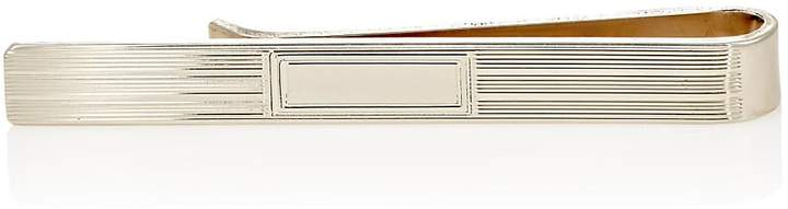 Barneys New York Men's Engraved Sterling Silver Tie Bar
