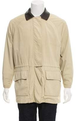 Loro Piana Woven Zip-Up Jacket