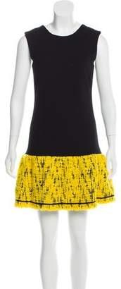 Nha Khanh Wool Sleeveless Mini Dress