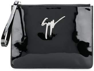 Giuseppe Zanotti Design Mergery mirrored clutch