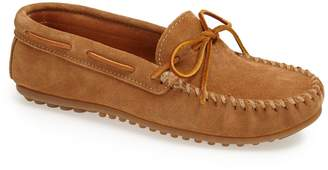 Minnetonka Suede Driving Shoe
