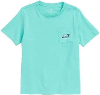 Vineyard Vines Marlin Flowers Whale Pocket T-Shirt