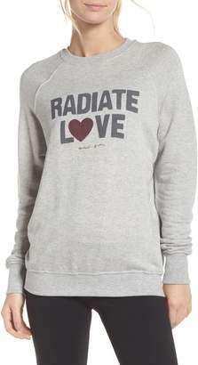 Spiritual Gangster Radiate Love Sweatshirt