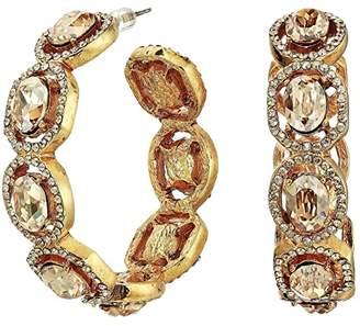 601e571acda12 Pewter Hoop Earrings - ShopStyle