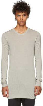 Rick Owens Grey Basic Long Sleeve T-Shirt