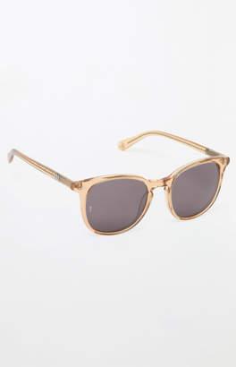 Wonderland Barstow Gold Clear Sunglasses