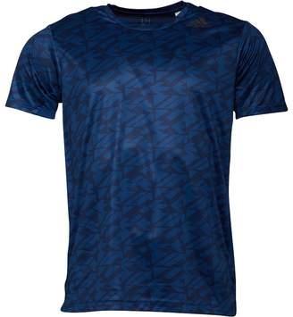 adidas Mens FreeLift Climacool Battle Graphic Top Blue