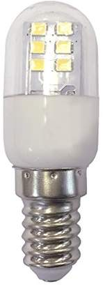 Camilla And Marc sevenon LED 53072 Fridge Bulb E14, 1 W, White, 6.4 x 2.2 x 2.2 cm