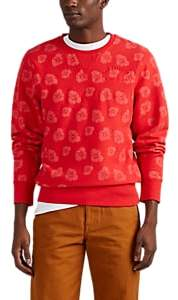 "4HUNNID Men's ""Members Only"" Cotton Sweatshirt - Red"