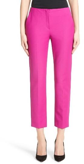 Women's Armani Collezioni Tech Cotton Blend Slim Pants