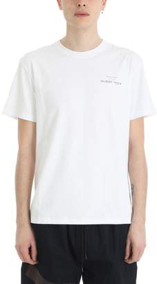 Raf Simons White Cotton Substance T-shirt