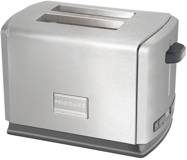 Frigidaire Professional Stainless Steel 2-Slice Toaster