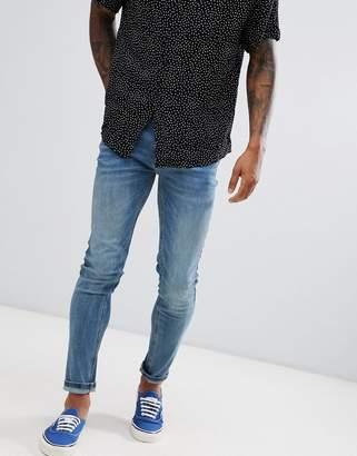 Farah Drake stretch jeans in blue
