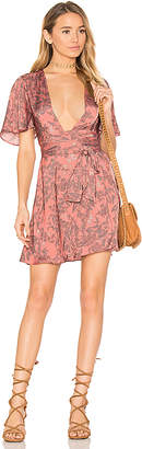 House of Harlow 1960 x REVOLVE Harper Wrap Dress in Pink $228 thestylecure.com