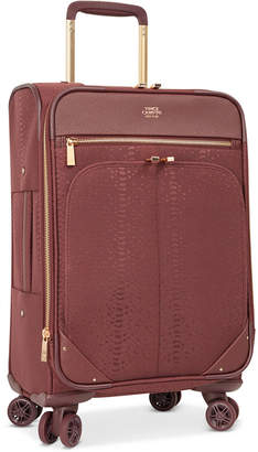 """Vince Camuto Closeout! Ameliah 20"""" Softside Expandable Carry-On Spinner Suitcase"""