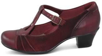 Earthies Red Dressy Heel