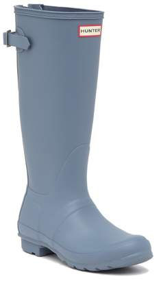 Hunter Tall Adjustable Back Waterproof Rain Boot (Women)