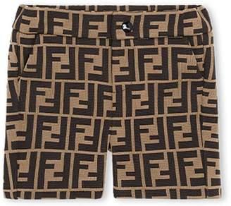 Fendi FF logo motif shorts
