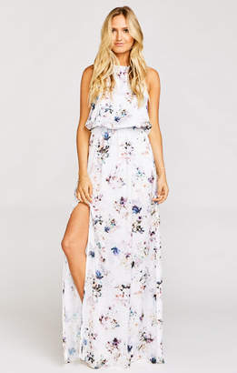 Show Me Your Mumu Heather Halter Dress ~ Bouquet Beauty