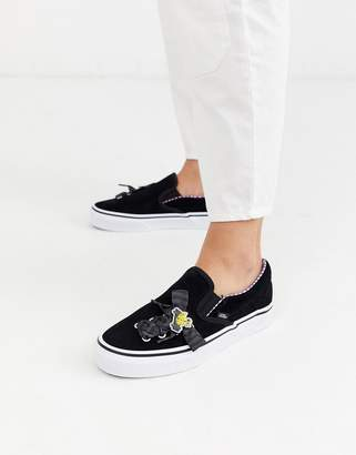 Vans x Disney Nightmare Before Holidays Classic Slip-On Lace sneakers in multi