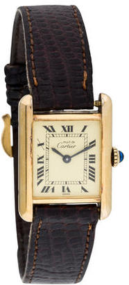 Cartier Tank Must de Cartier Watch $1,195 thestylecure.com