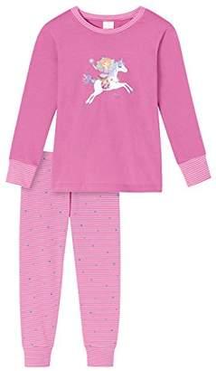 Schiesser Girl's Prinzessin Lillifee Md Schlafanzug Lang Pyjama Sets,18-24 Months