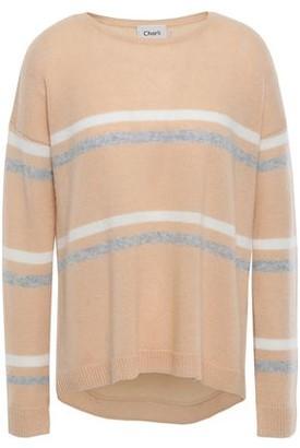 Charli Amber Intarsia Cashmere Sweater
