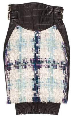 DSQUARED2 Tweed Knee-Length Skirt