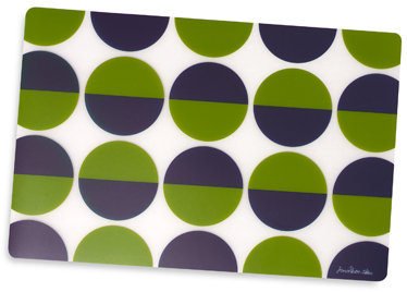 Half Circle Placemat by Jonathan Adler Happy Home™