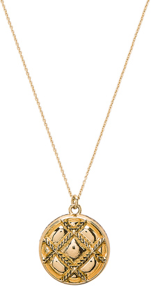 House of Harlow Phoebe Quilted Pendant Necklace $39 thestylecure.com