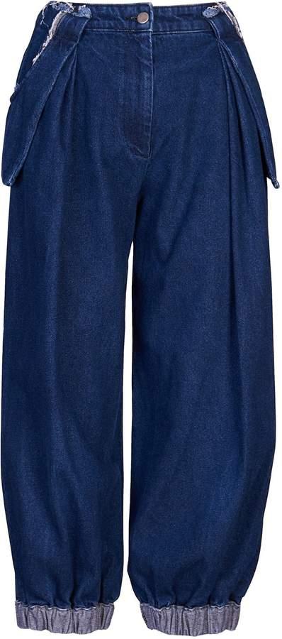 Acephala - Baggy Dark Blue Jeans