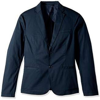 Armani Exchange A|X Men's Cavalry Twill Two Button Blazer