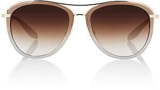 Barton Perreira Women's Aviatress Sunglasses - Sandstone