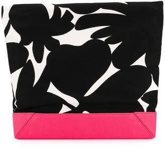 Marni large printed clutch bag