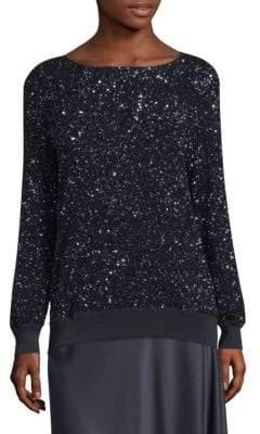 Lafayette 148 New York Nessa Sequin Sweater