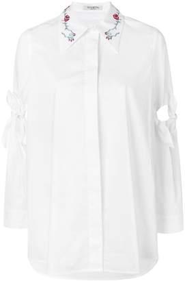 Vivetta tie knot sleeve shirt