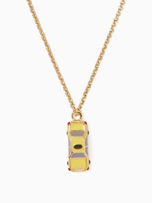 Kate Spade Ma Cherie Taxi Mini Pendant, Yellow