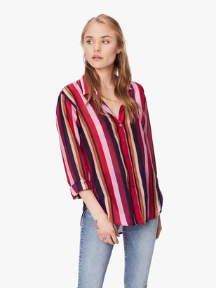 XiRENA Beau Barcelona Silk Cotton Shirt - Seville