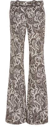 Zimmermann Zippy Rocker Paisley Linen Pants